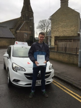 Congratulations to Bill Duffy from Cambridge who passed on the 31-1-18 after taking driving lessons with MRL Driving School