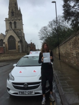Congratulations to Dr Helen Taylor from Cambridge who passed on the 12-3-18 after taking driving lessons with MRL Driving School Having failed a few years ago we're pleased to say Dr Helen passed 1st time with us