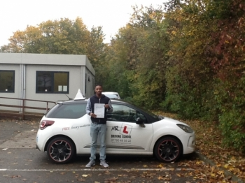 Congratulations to Andrew from Newmarket Having failed previously using another driving school Andrew passed on the 1st time of asking with MR L Driving School Andrew passed in Cambridge on the 2-11-15