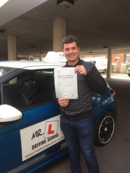 Congratulations to Josh Howells from Exning who passed 1st time in Cambridge on the 11-10-17 after taking driving lessons with MRL Driving School