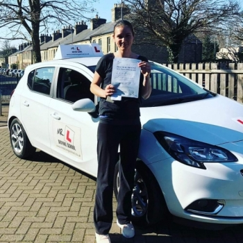 Congratulations to Tracy Hardman who passed in Cambridge on the 27-2-19 after taking driving lessons with MR.L Driving School.