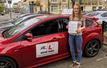 Congratulations to Iona who passed in Cambridge on the 16-4-19 after taking driving lessons with MR.L Driving School.