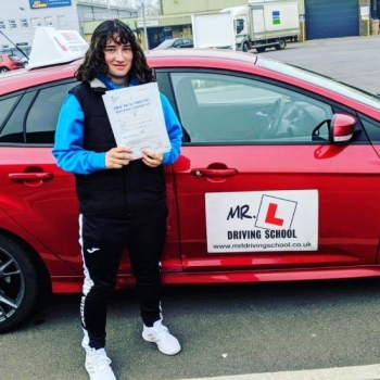 Congratulations to Kirsty who passed in Cambridge on the 18-4-19 after taking driving lessons with MR.L Driving School.<br />