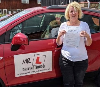 Congratulations to Janet Gibeau from Newmarket, who passed 1st time with only 1 driver fault on 13-8-19 in Cambridge after taking driving lessons with MR.L Driving School.
