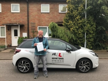 Congratulations to Dan Owen from Waterbeach who passed 1st time in Cambridge on the 3-5-17 after taking driving lessons with MRL Driving School