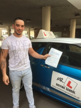 Congratulations to Alex Salajan from Newmarket who passed 1st time in Cambridge on the 5-5-17 after taking driving lessons with MRL Driving School