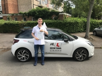 Congratulations to Matthew Cox from Cambridge who passed his test on the 12-6-17 after taking driving lessons with MRL Driving School