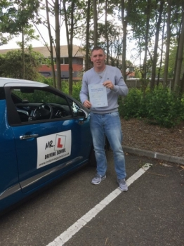 Congratulations to Will C Dunn from Cambridge who passed 1st time on the 10-8-17 after taking driving lessons with MRL Driving School