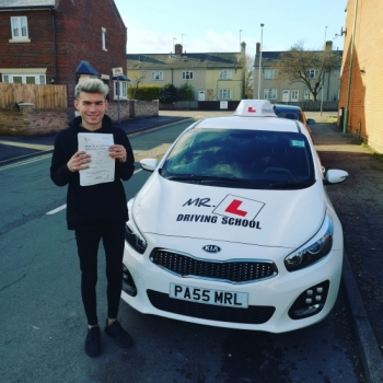 Congratulations to Karl Symonds from Newmarket who passed in Cambridge on the 7-2-19 after taking driving lessons with MR.L Driving School.