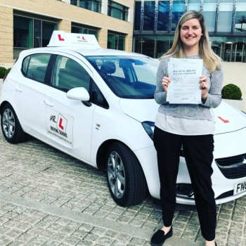 Congratulations to Caroline Hodgson who passed in Cambridge on the 26-3-19 after taking driving lessons with MR.L Driving School. Having previously failed her driving test we are pleased to say Caroline passed at the 1st attempt with us.