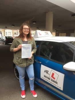 A HUGE well done to Paige Latimer from Haddenham who passed her driving test on the 17-3-17 in Cambridge with ZERO faults An amazing achievement for both Paige and her driving instructor Jayne Hardy