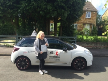 Congratulations to Elsa Rees from Cambridge who passed 1st time and with ZERO faults on the 14-7-16 after taking driving lessons with MRL Driving School