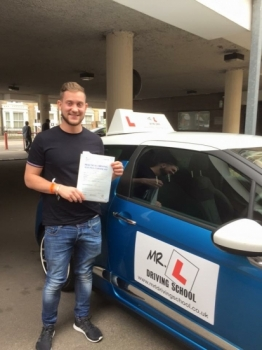 Congratulations to Chris from Sawston who passed in Cambridge on the 4-7-16 after taking driving lessons with MRL Driving School