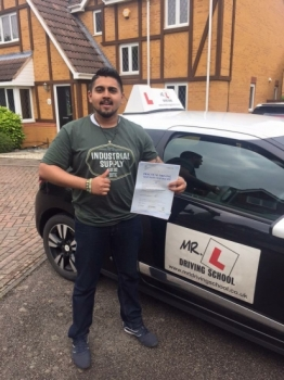 Congratulations to Max dacute;souza from st Ives who passed 1st time with us in Cambridge on the 17-6-16 after a one week intensive course