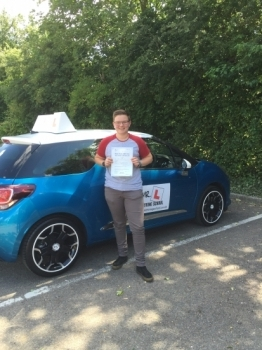 Congratulations to Elliot from Newmarket who passed in Cambridge on the 10-7-16 after taking driving lessons with MRL Driving School